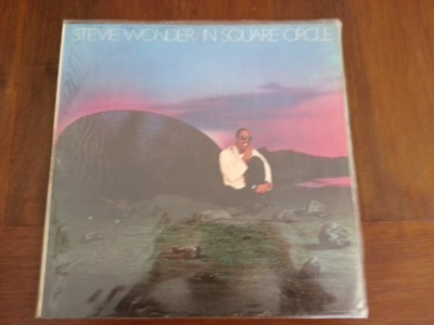 Stevie Wonder in Square Circle 33 rpm