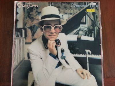 Elton John Greatest Hits 33 rpm